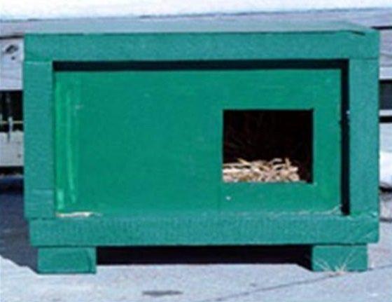 Foam cat shelter